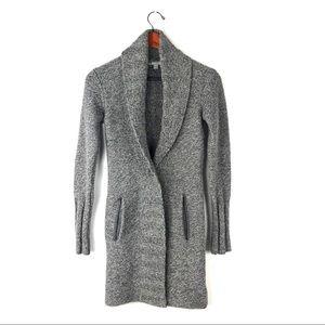 NWOT James Perse cardigan shawl sweater wool XS